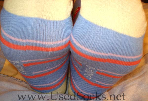 sweaty girls socks