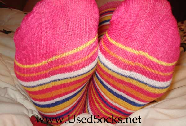 feet in used socks
