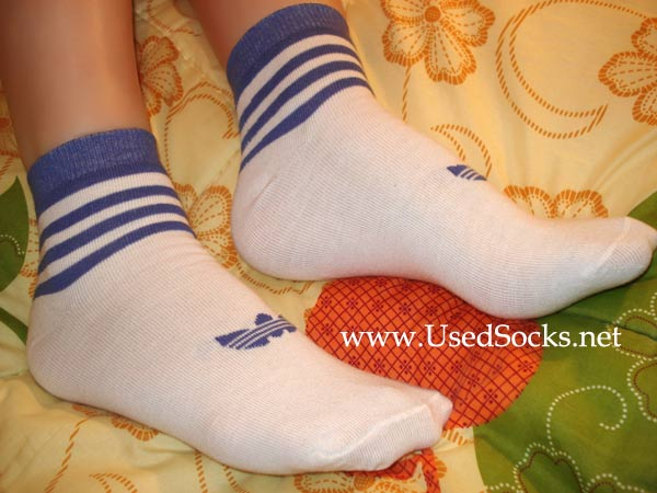 white used sport socks