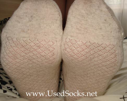 used flax socks