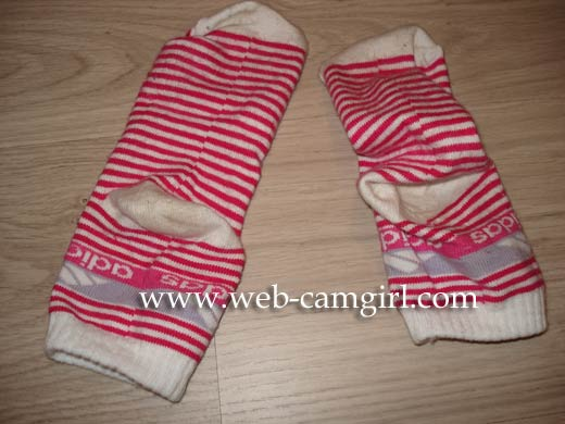 red used socks