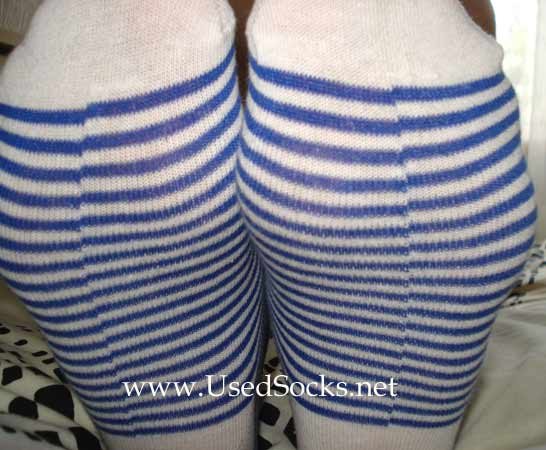 used girls socks