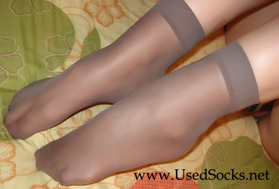 Silky used socks