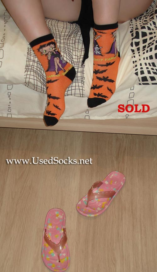 feet used sox